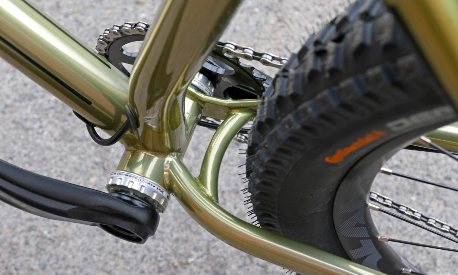 Sour Bicycles solid, affordable production steel off-road bikes Crumble
