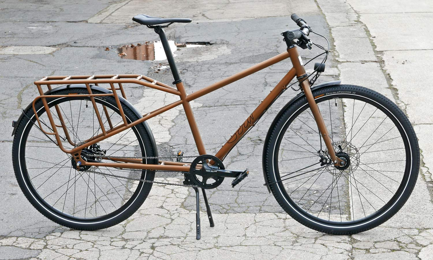 Sour Bicycles solid, affordable production steel off-road bikes Pick Up truck