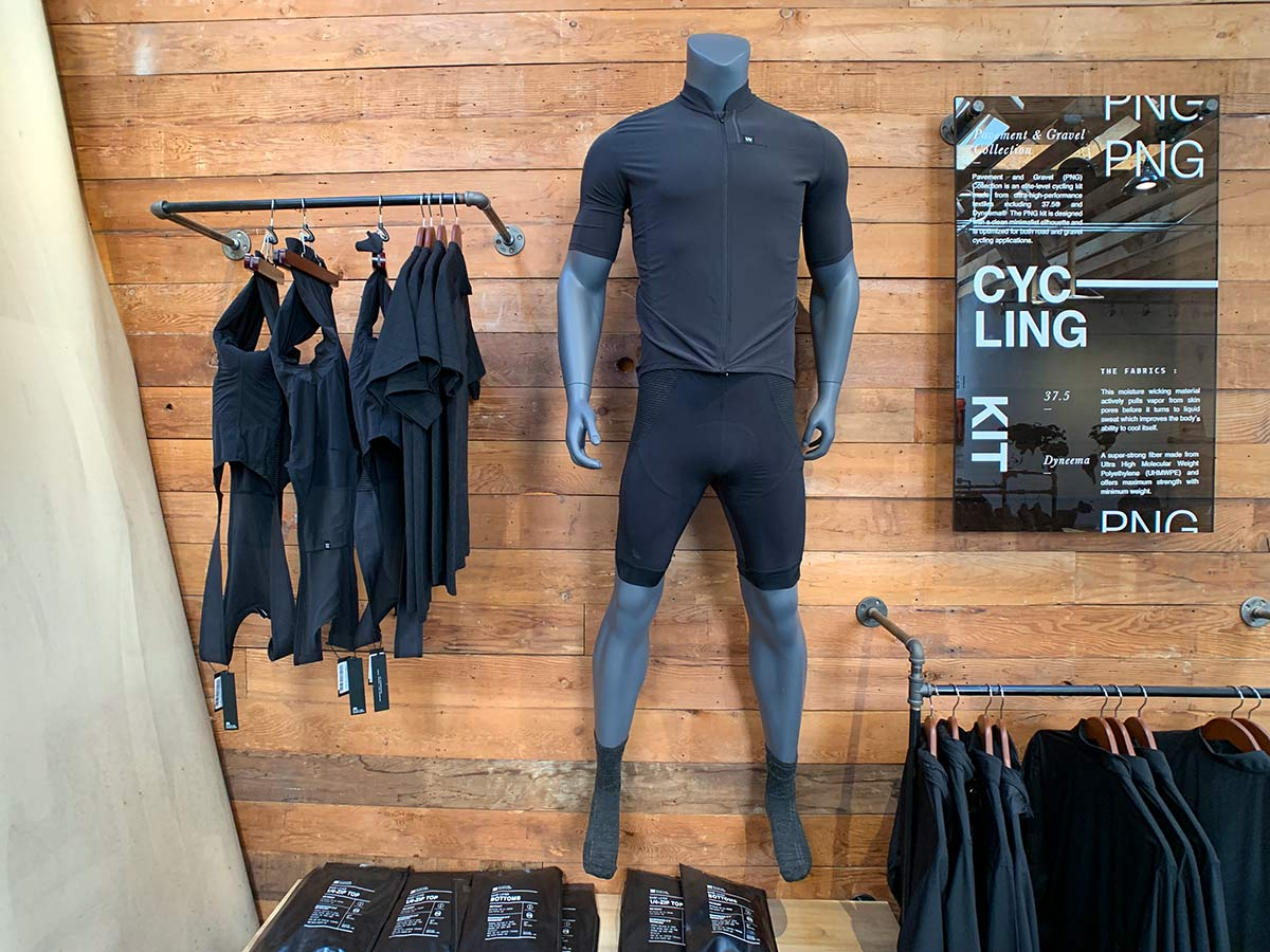 mission workshop cycling kit bibshorts and jersey