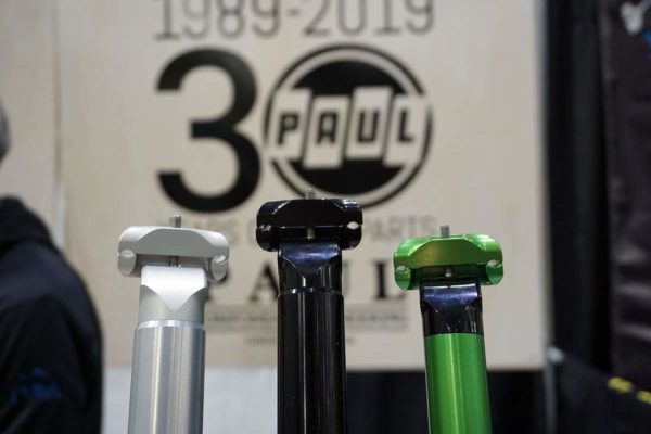 paul component adds more seatpost sizes and green anodization for 30th anniversary