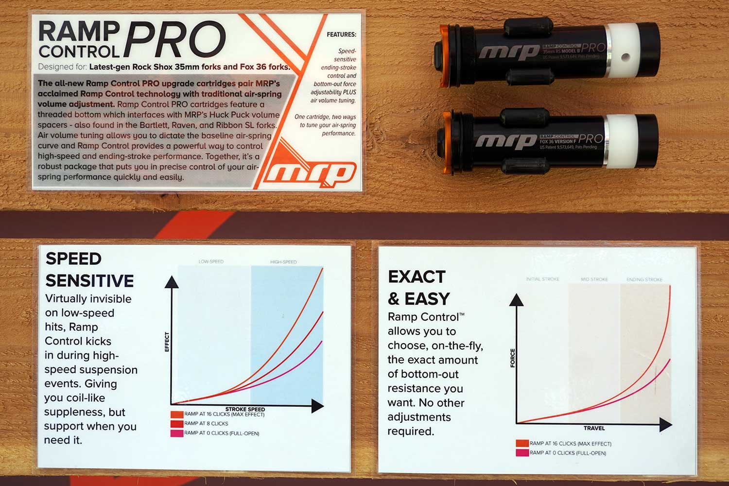 MRP RCC shows you how to adjust your suspension forks air spring ramp and compression