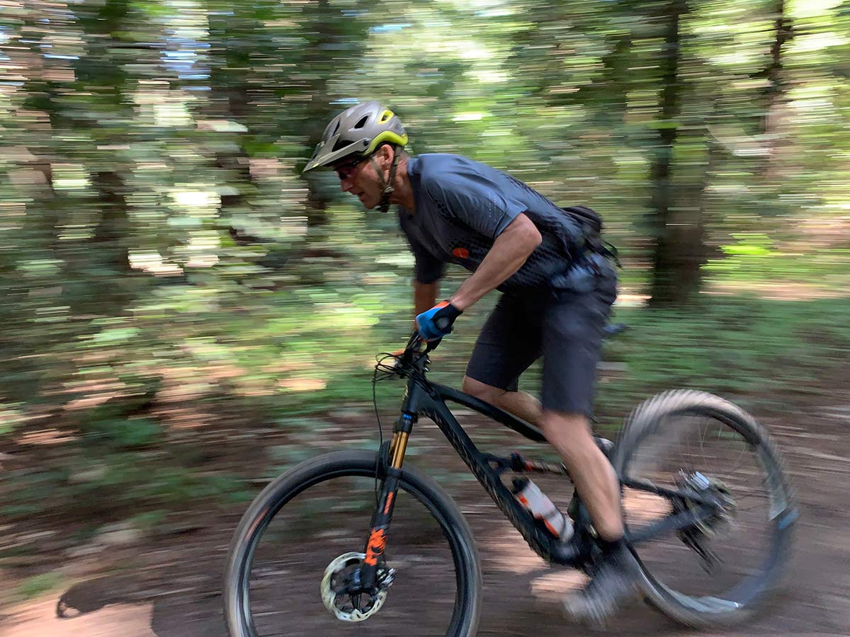 Scot Nicol is the guy who founded Ibis Cycles and he still gets out and rides with his crew