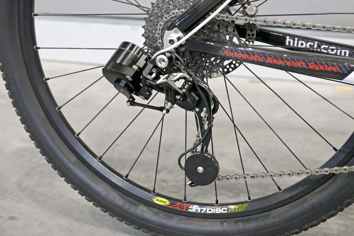 Automatic Gearshift System Smart Derailleur Delivers Auto 1x Shifts