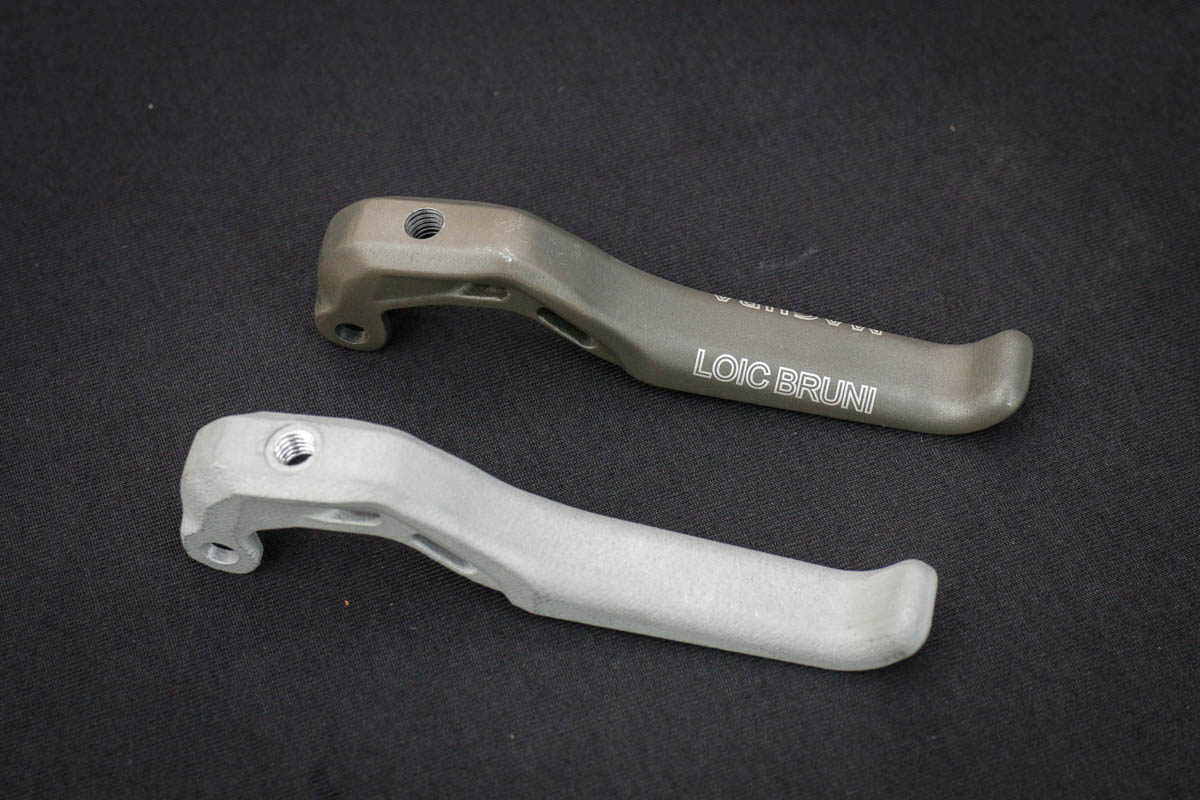 Magura 3D prints new aluminum brake levers for Loic Bruni - and consumers
