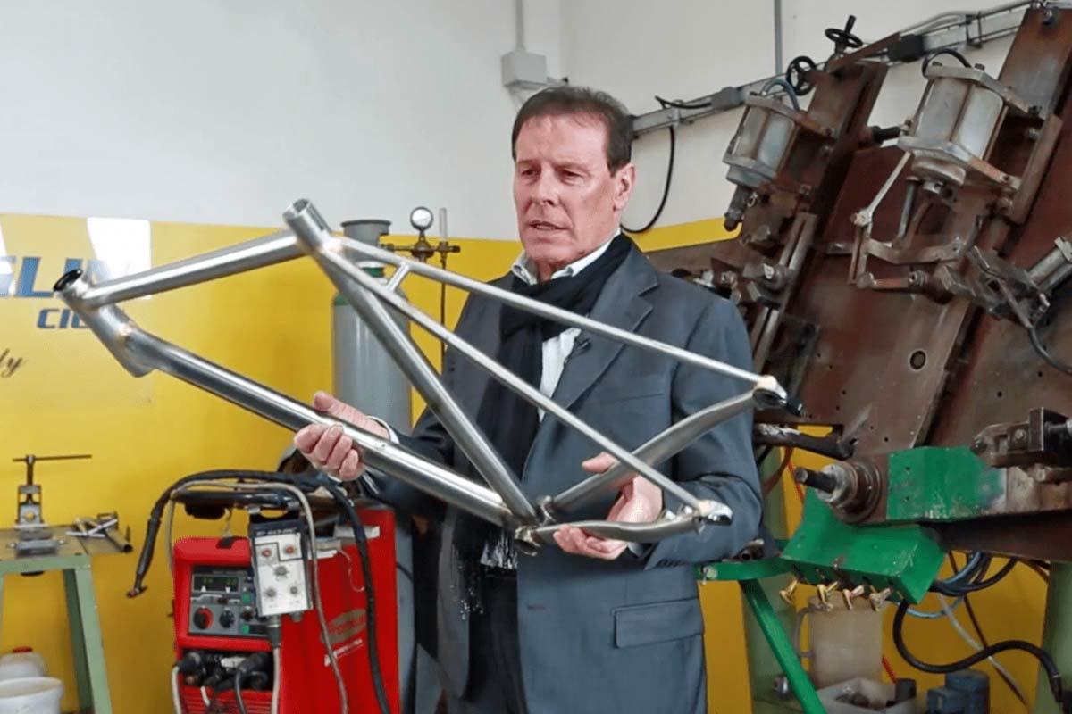 Officina Battaglin 'The Man of Steel' Giovanni Battaglin how to build modern precision Italian steel road bikes