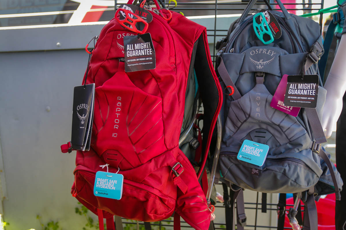 Osprey hydration packs continue to improve with more comfort, features, & models