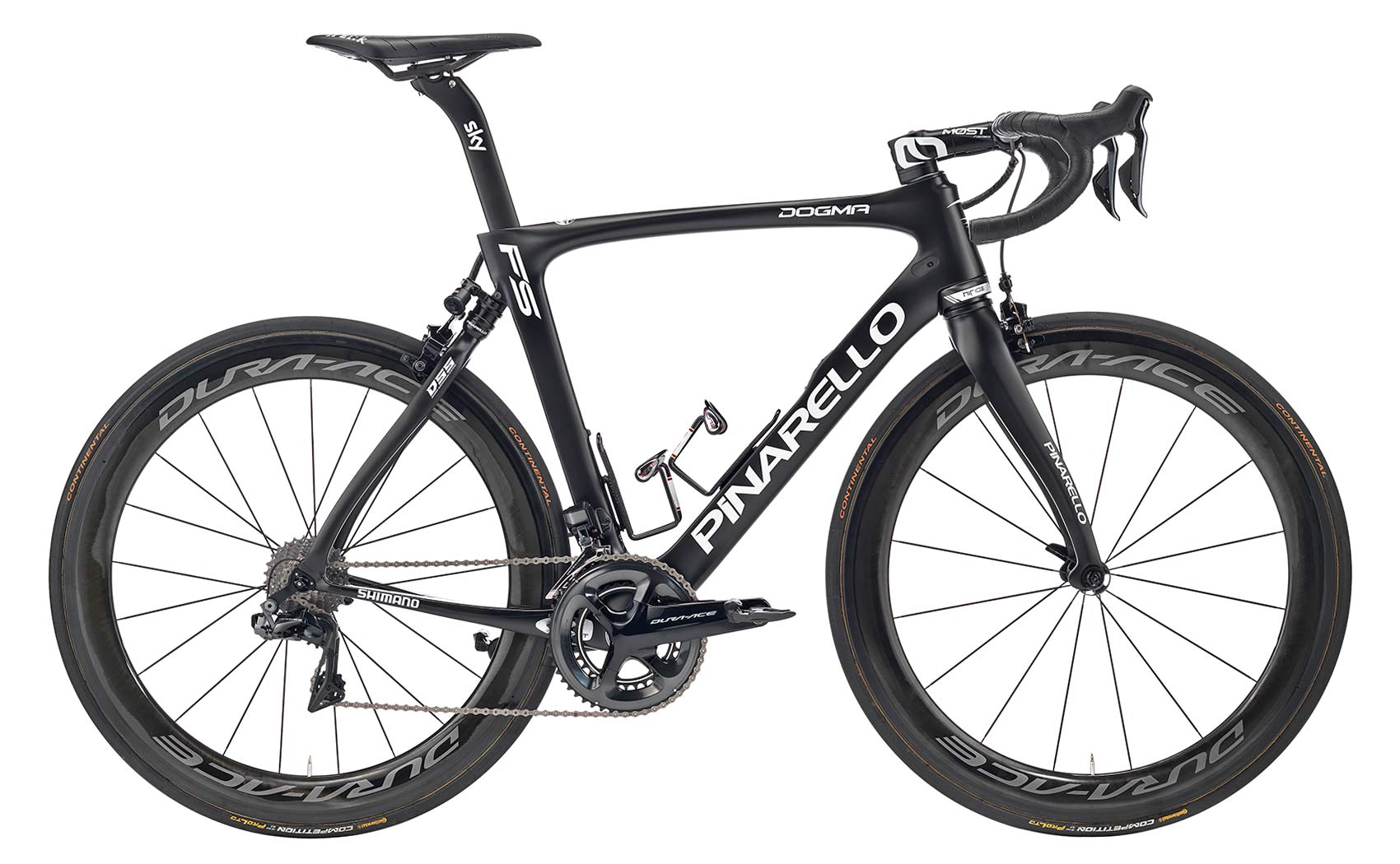 Pinarello Dogma FS road bike, electronic-control, full-suspension lightweight carbon road race bike