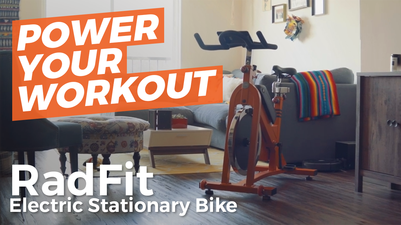 Boost your workout and crush Zwift with RadFit Electric
