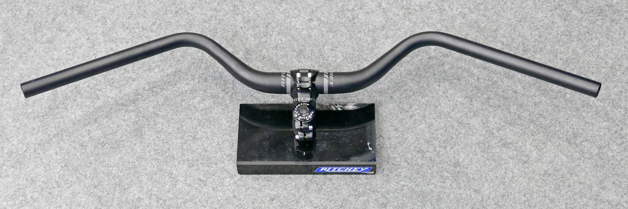 Ritchey Comp Kyote MTB bar, large sweep adventure mountain bike handlebar