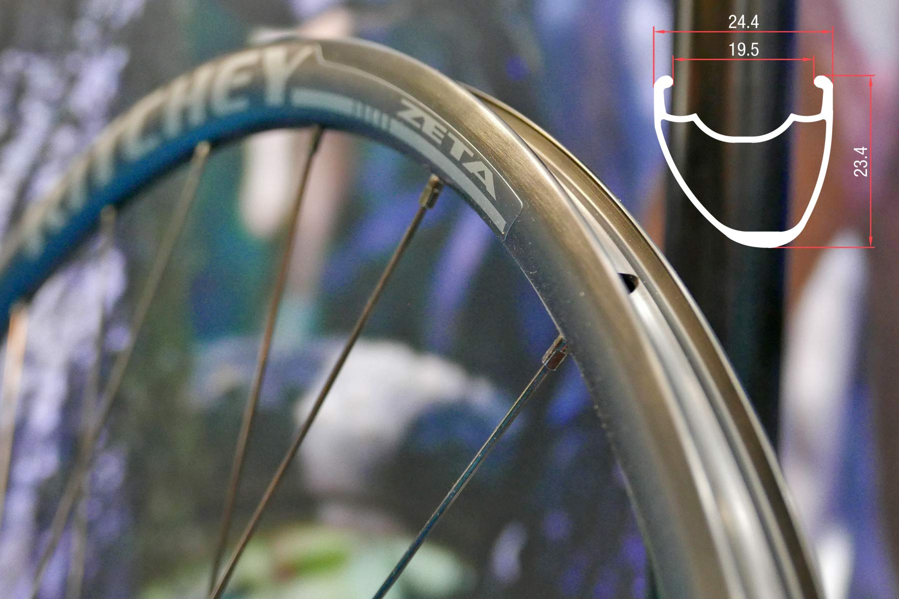 Ritchey Comp Zeta budget tubeless-ready aluminum disc brake wheels
