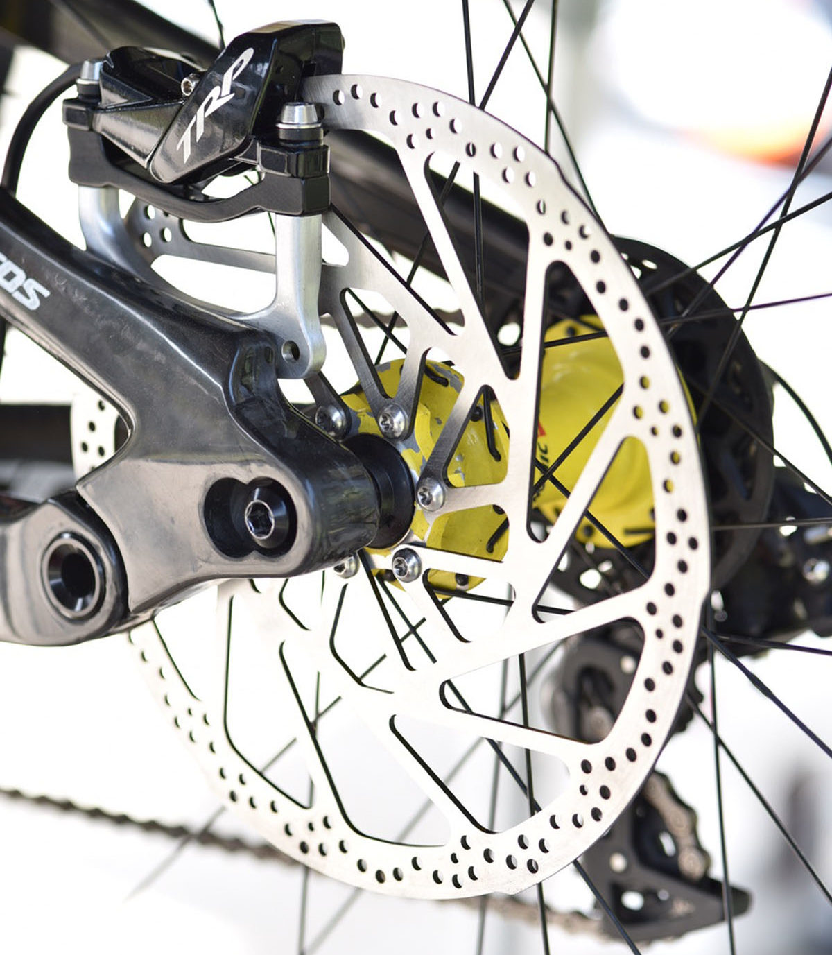 """TRP adds thicker 223mm rotors for 29"""" DH wheels, continues drivetrain testing for WC"""