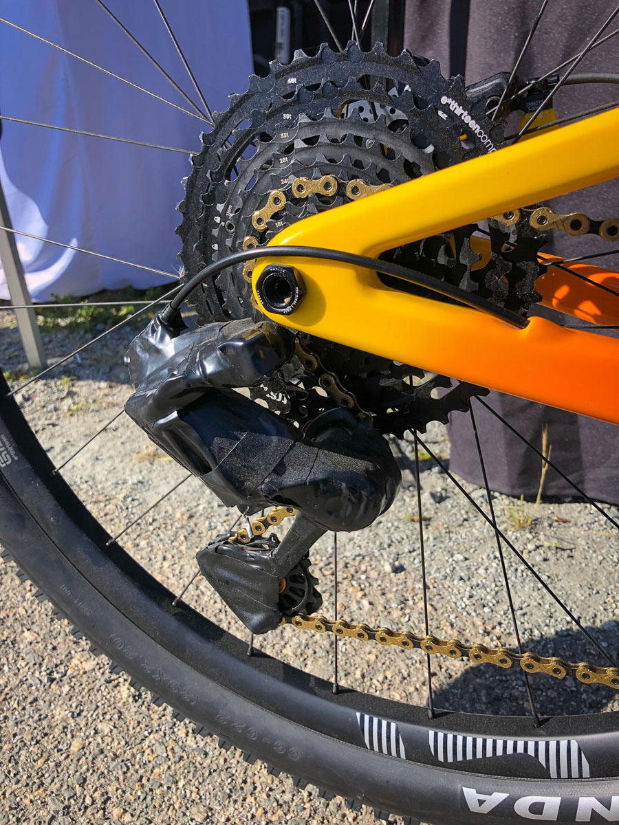 Spyshot: TRP 1x12 rear derailleur and shifter look closer to production