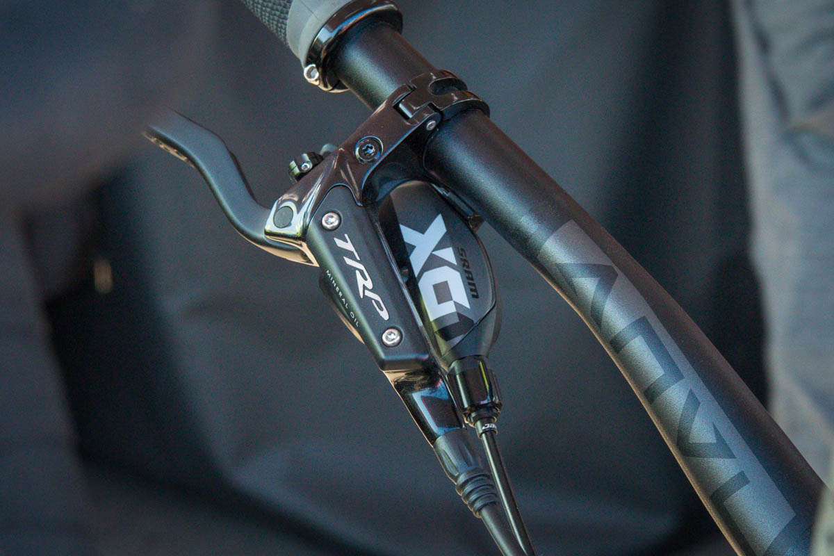 Spyshot: TRP MTB 1x12 rear derailleur and shifter look closer to production