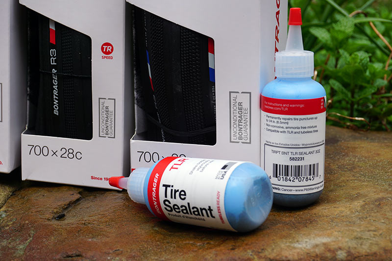 what is the blue tire sealant from bontrager