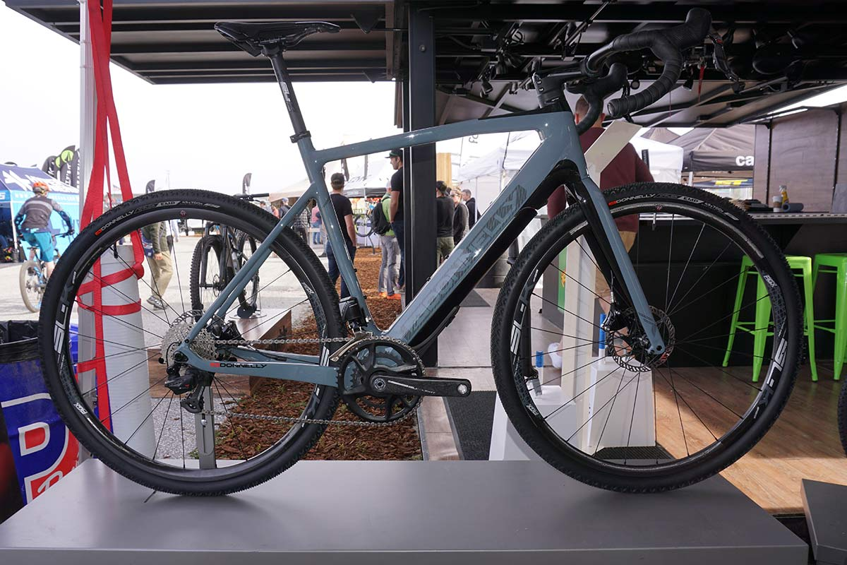 Donnelly e-gravel bike uses same geometry as their standard bikes