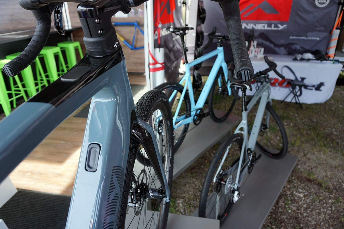 new colors for Donnelly GC gravel road bike in 2019
