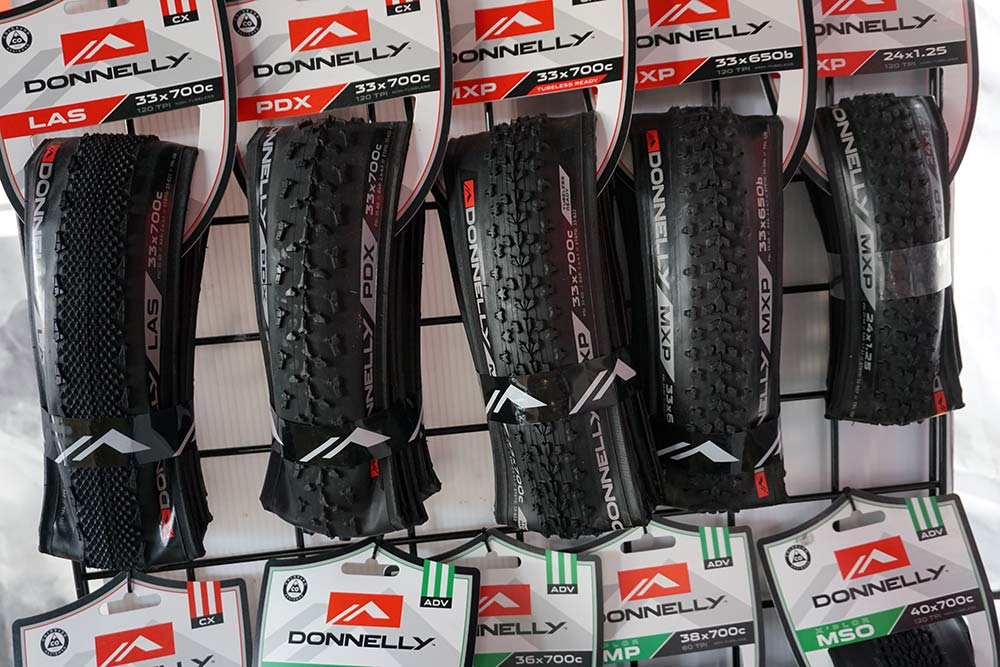 new premium Donnelly cyclocross tires made in Czech Republic with higher quality casings