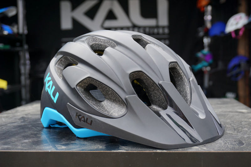 new Kali Pace mountain bike helmet is affordable and offers mips like rotational impact protection