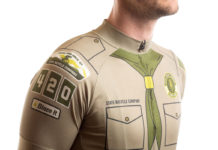 eagle scout park ranger cycling jersey and bibshorts kit