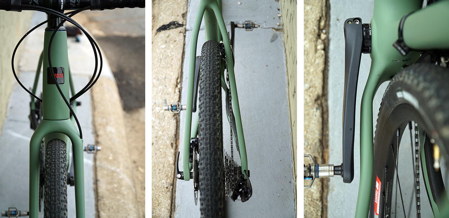 2019-2020 santa cruz stigmata cyclocross and gravel bike tire clearance