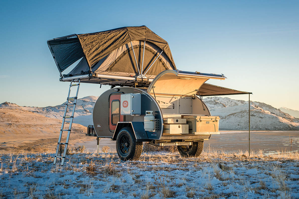 #Vanlife: Escape the grind with Escapod US-made adventure trailers - Bikerumor