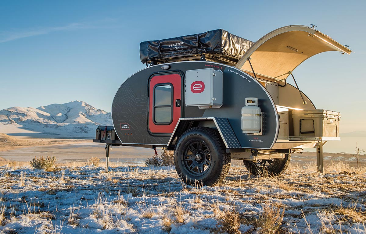 Vanlife: Escape the grind with Escapod US-made adventure