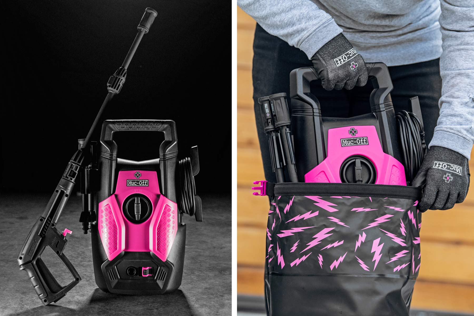 Muc-Off Pressure Washer, bike-specific deep clean road gravel cyclocross mountain bike cleaner