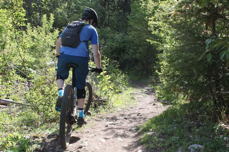 Osprey Katari 3 hydration pack, me climbing