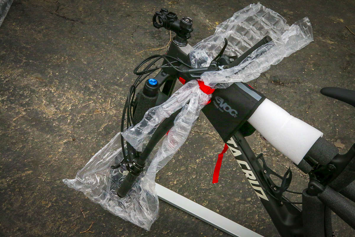 how to pack a mountain bike for travel