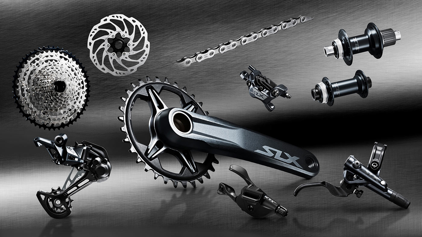 complete specs for new Shimano SLX M7100 mountain bike group