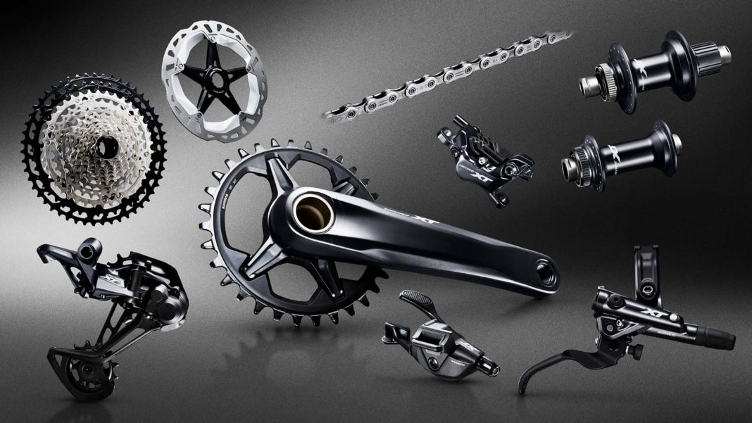 complete new shimano xt m8100 group for 2019