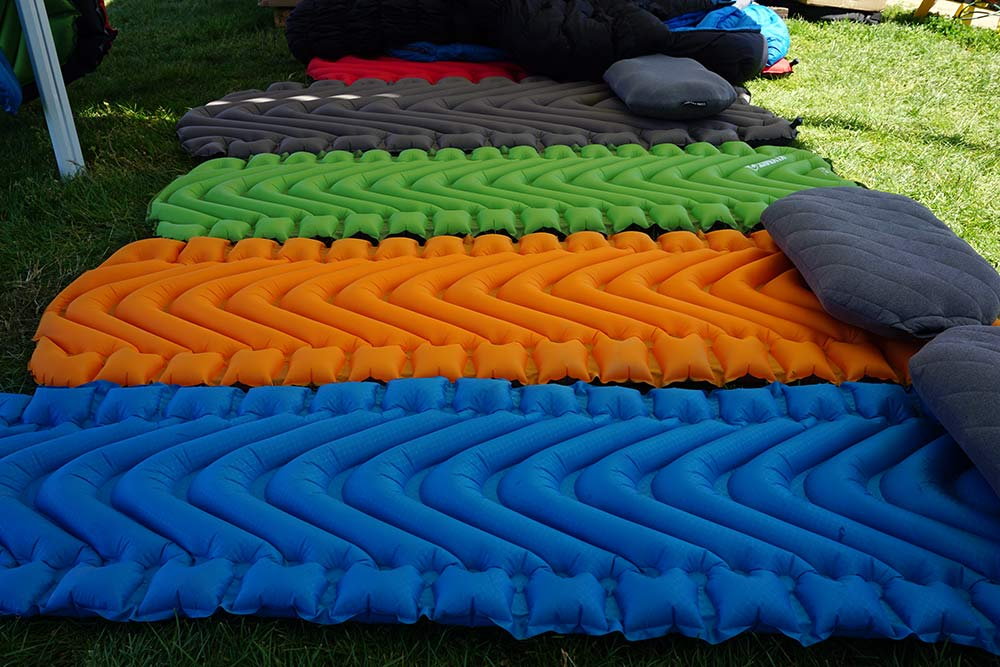 lightweight compact air mattress for hiking camping and bikepacking