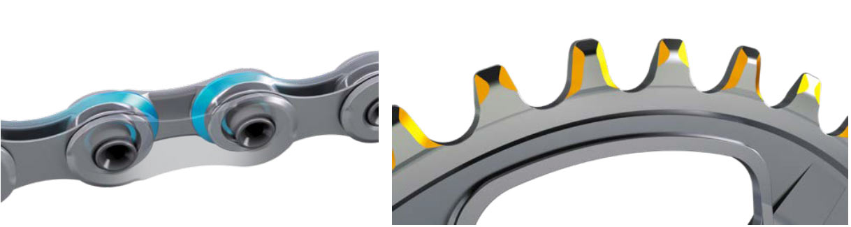 what is a shimano hyperglide+ chain