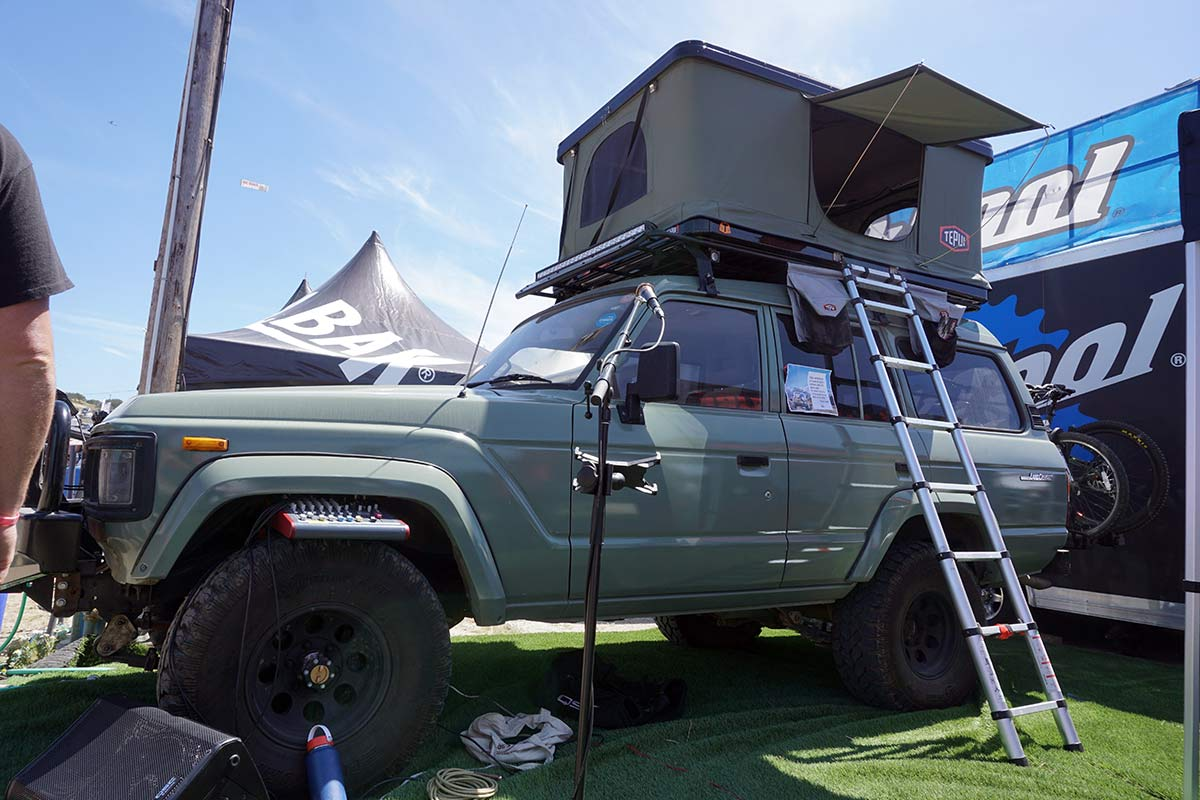 thule tepui high box hardshell roof top tent for the top of your car van truck or suv