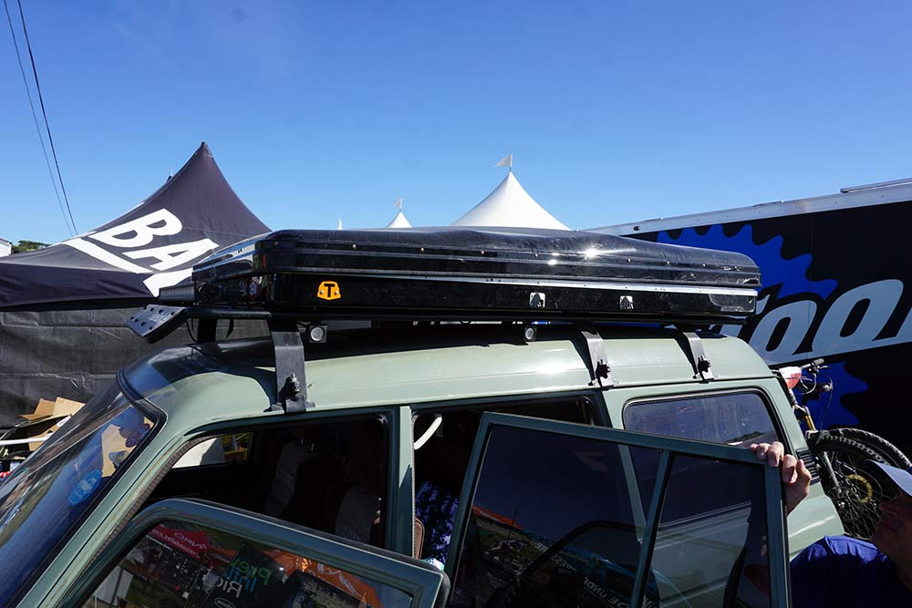 thule tepui hybox roof top tent is literally a high box if you zip out the tent walls and use it for storage instead