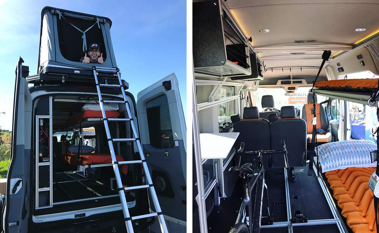 affordable custom sprinter and transit vans for adventure vehicles