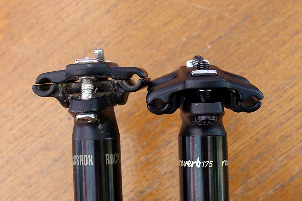 how much travel do dropper seastposts have and how can I run a longer dropper post on my bike