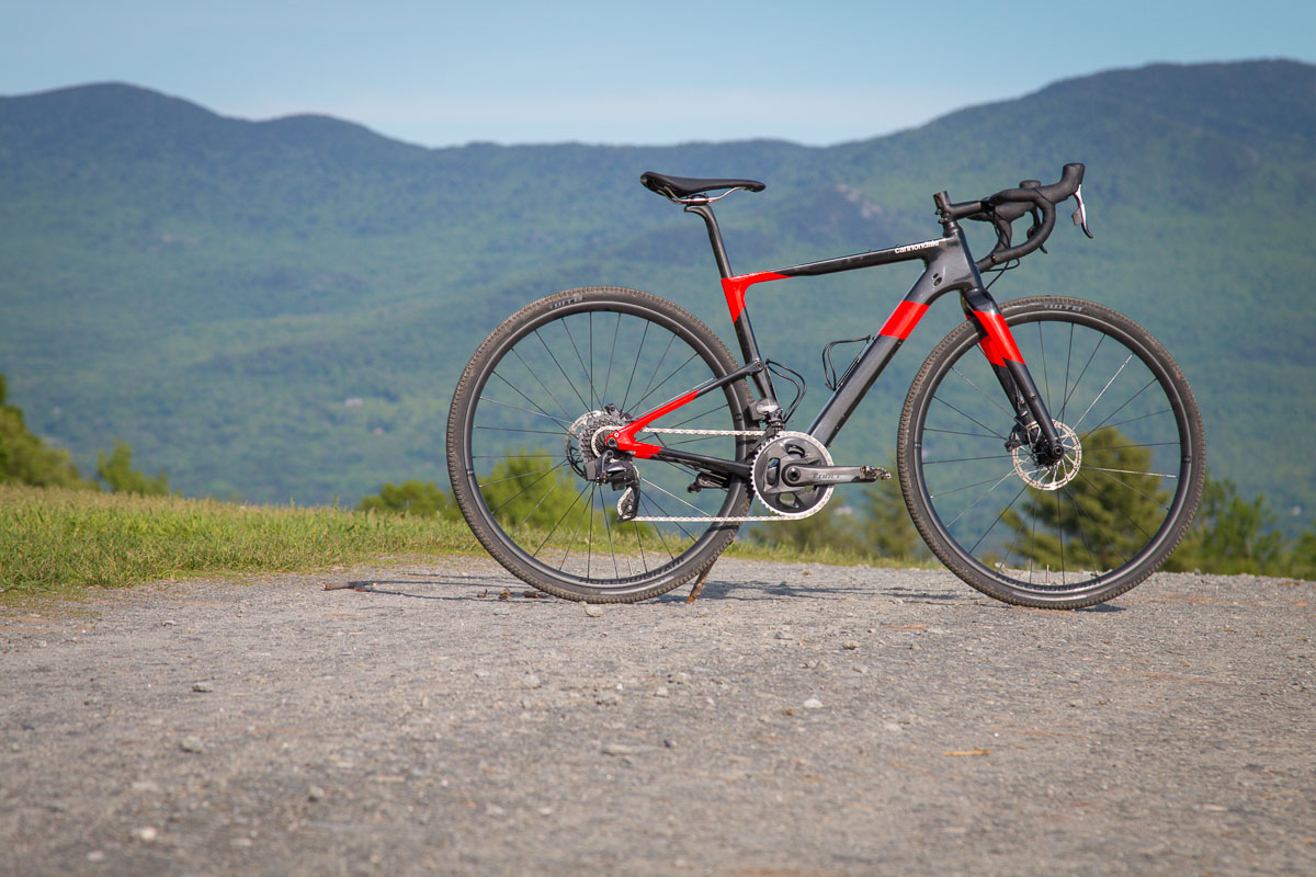 First Ride: Cannondale Topstone Carbon gravel bike with Kingpin rear suspension
