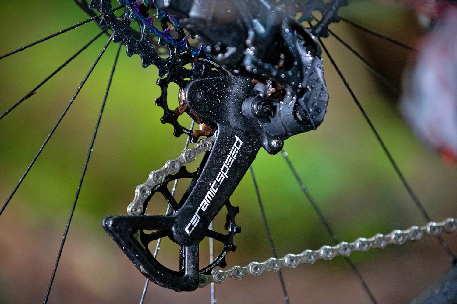CeramicSpeed OSPW X SRAM Eagle kit, ceramic bearing oversized pulley wheel derailleur upgrade