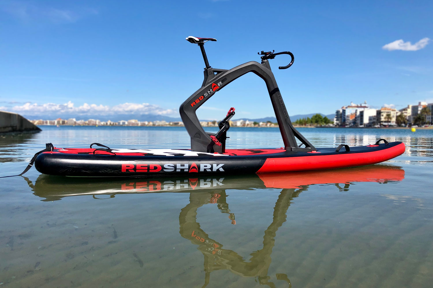 RedShark is back in the water, on new packable pedal-powered