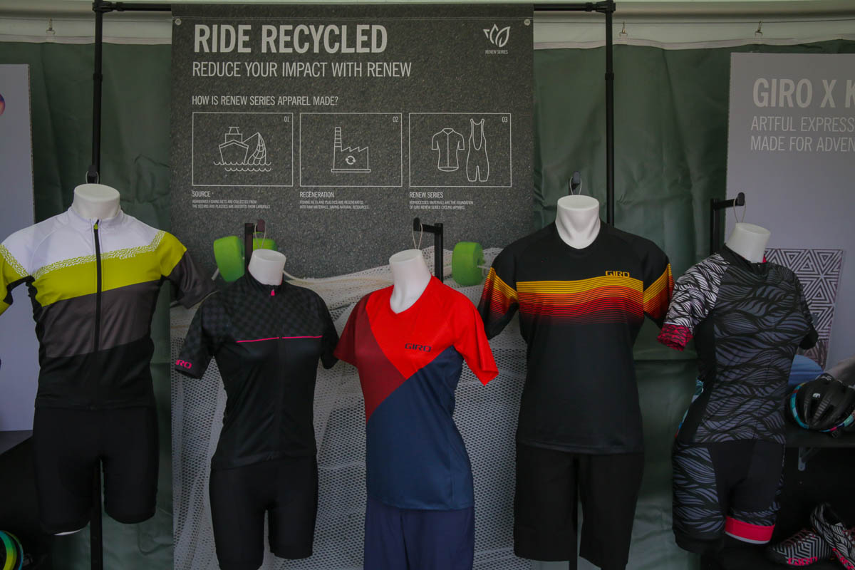 A sampling of Giro's Renew Series from Sea Otter 2019.