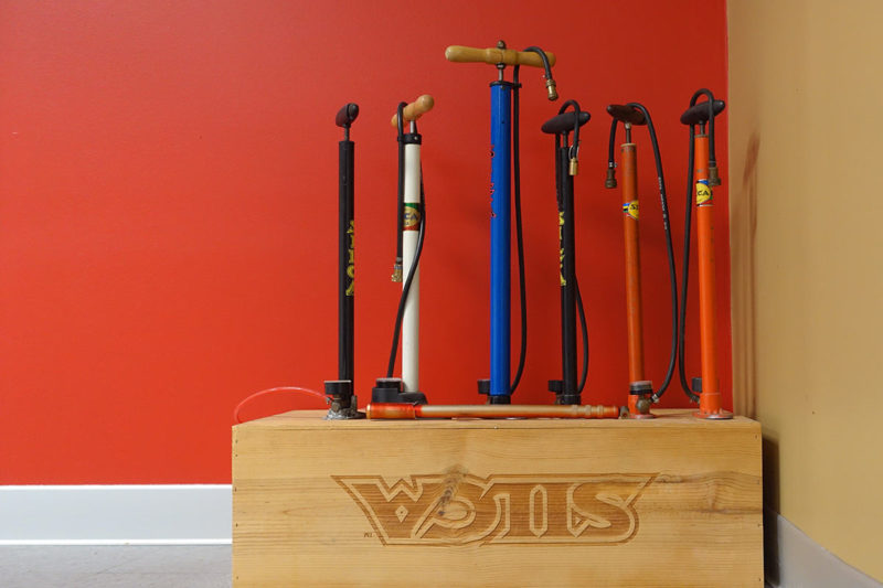 Silca headquarters tour shows how they make high end bicycle pumps and tools - plus a collection or original Silca pumps and prototypes