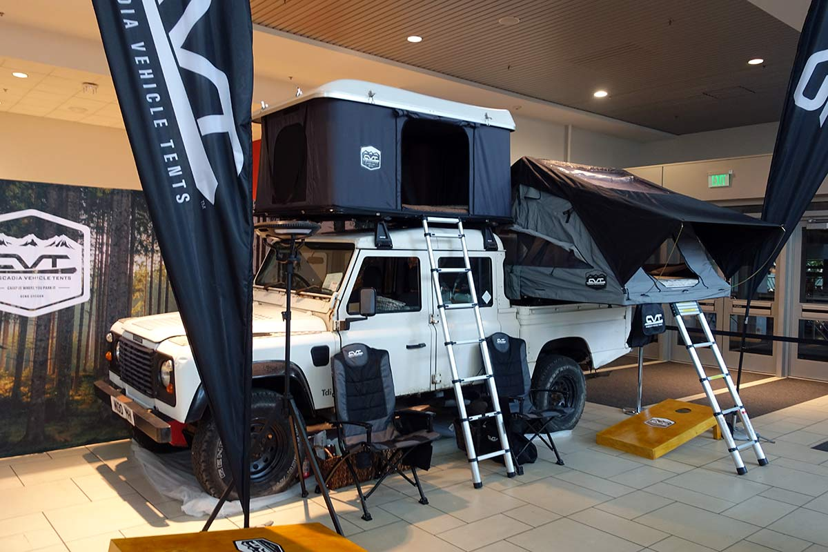 CVT truck and vehicle roof tents