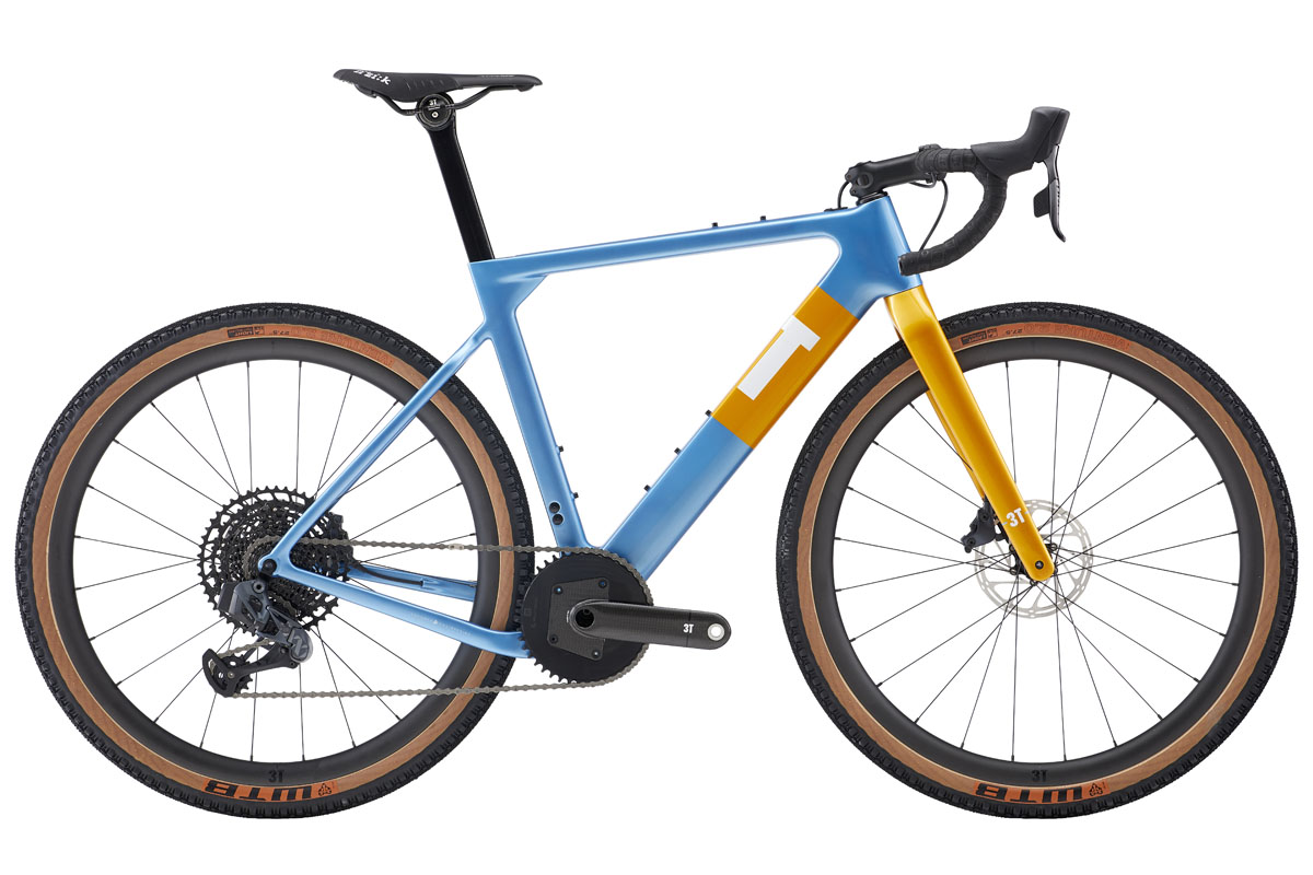 3T Exploro Team Force Eagle eTap Torno gets all the gearing & all the names