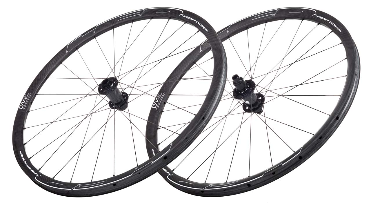 HED Raptor 29 US-made carbon XC MTB cross-country mountain bike wheels with DNA spoke alignment drilling