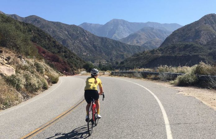 bikerumor pic of the day road cycling san gabriel canyon road to the crystal lake in angeles national forest.