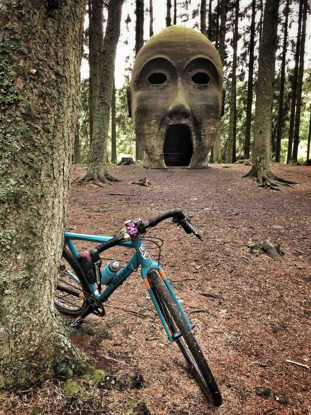 bikerumor pic of the day Kielder Forest riding a part of the dirty reiver trail in Northumberland, UK.