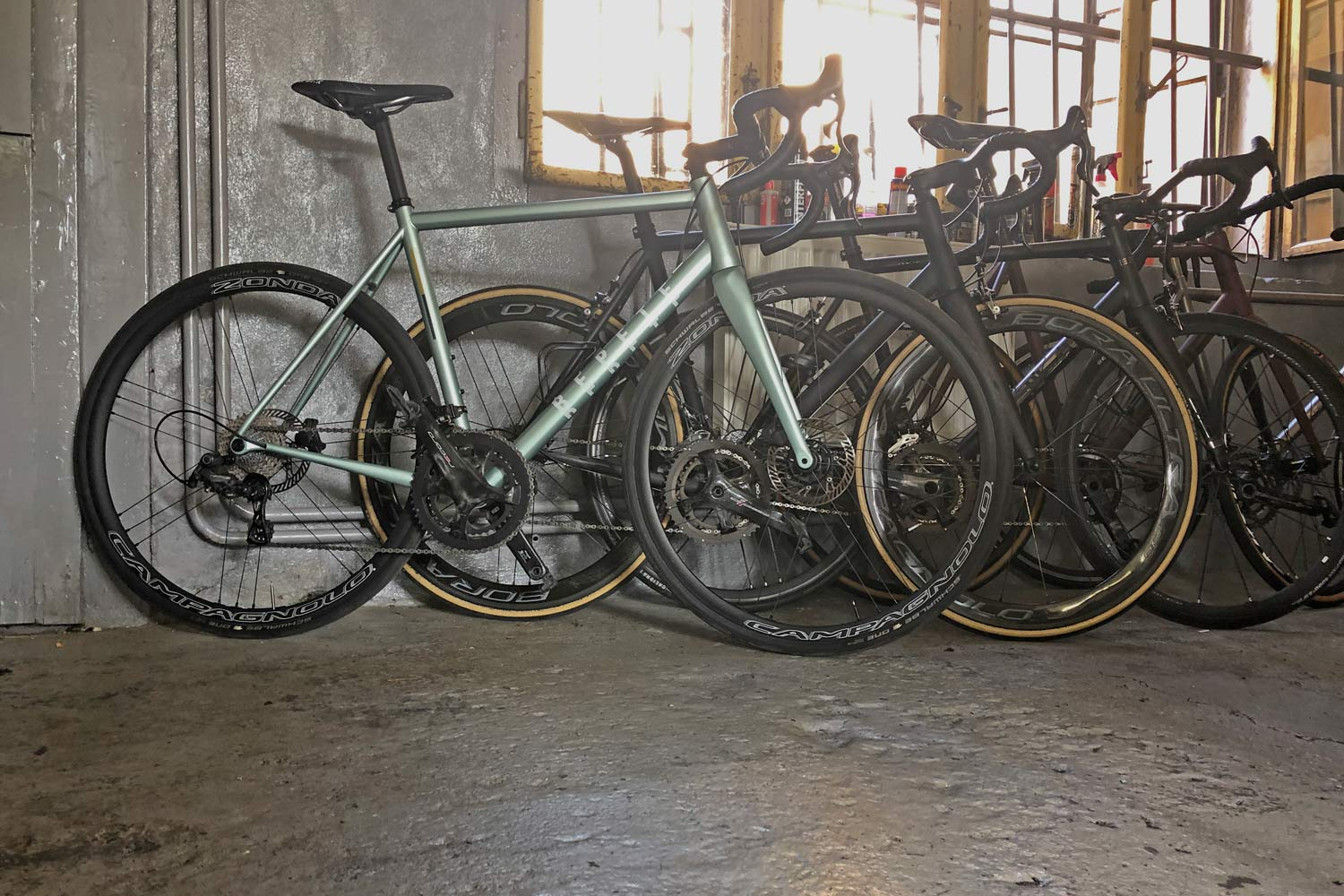 Repete Cycles returns, small batch steel gravel road bikes made in Prague, workshop teaser
