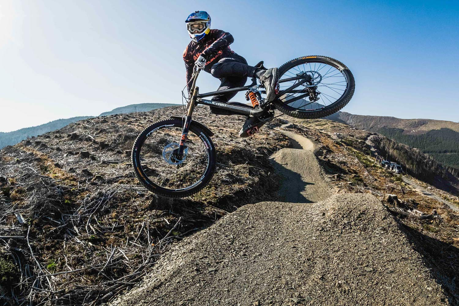 gee atherton trialed chainless riding cassette hack