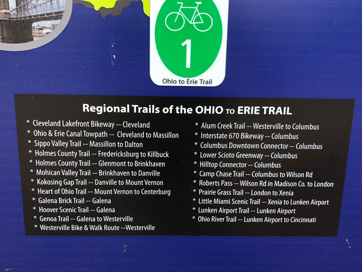 Review: Komoot + Wahoo ROAM GPS offer turn by turn directions for Ohio to Erie Trail